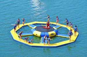 jeu aquatique parc / roue / gonflable