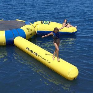 jeu aquatique poutre d'équilibre / gonflable