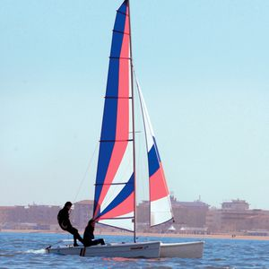 catamaran de sport école / de loisir / double / simple trapèze
