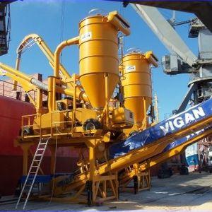 déchargeur de navire pneumatique