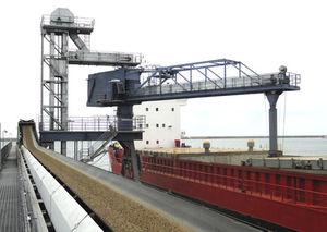 chargeur de navire convoyeur