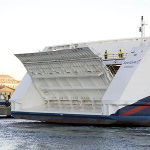 rampe pour navire
