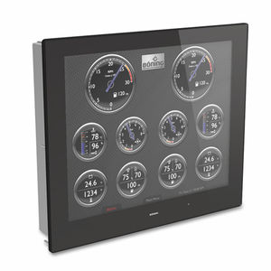 panel PC pour navire / pour yacht / encastrable
