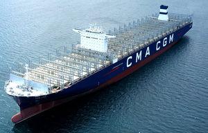 cargo porte-conteneurs
