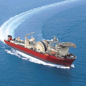 navire spécial barge de travail