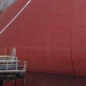revêtement antifouling pour navire de commerce / pour bateau professionnel / auto polissant / haute performance