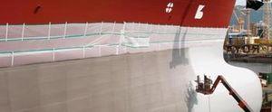 couche d'accrochage pour navire de commerce