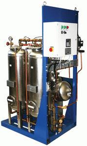 séparateur pour navire / eau / huile / vertical / pour eaux de cales