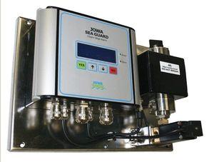détecteur de présence d'huile dans l'eau / pour navire / de cale / avec alarme