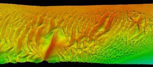 écho-sondeur pour études hydrographiques / multifaisceau