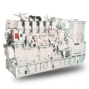 moteur auxiliaire pour navire / diesel / bi-carburant / Tier 1