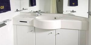 salle de bain préfabriquée pour navire