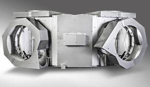 isolation rigide pour tuyau d'échappement de navire / acoustique / thermique