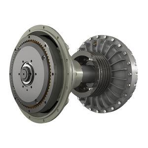réducteur avec embrayage hydraulique / pour bateau / pour moteur