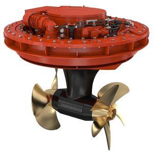 propulseur azimutal / pour navire / électrique / hélice contrarotative