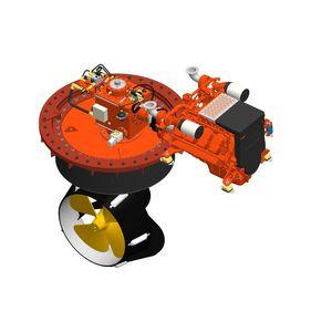 propulseur azimutal / pour navire / hydraulique / Z-drive