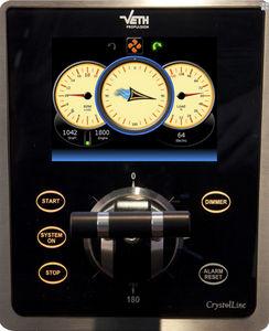 tableau de commande et de contrôle pour navire / pour propulseur