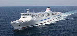ferry à passagers Ro-Pax / à grande vitesse / hybride