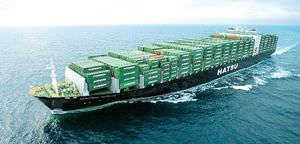 cargo porte-conteneurs / Post-Panamax