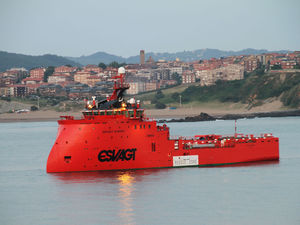 navire de service offshore stand-by