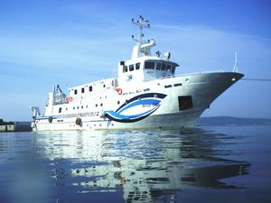 navire d'études hydrographiques