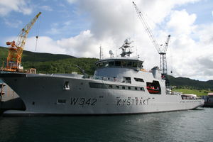 navire spécial de surveillance / côtier