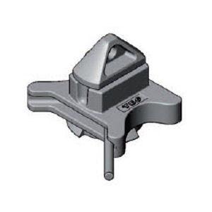 twist-lock pour l'arrimage de conteneur type breech base