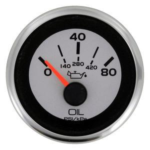 indicateur pour bateau / de température d'huile / analogique / pour moteur
