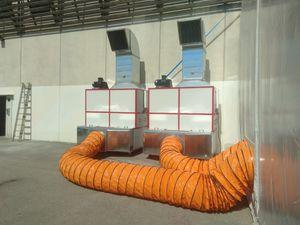 extracteur de poussière mobile