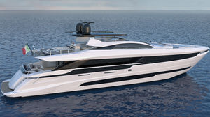 super-yacht de croisière