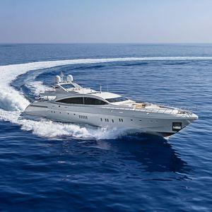 mega-yacht de croisière / à fly / 6 cabines / avec piscine