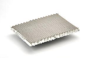 matériau d'âme nid d'abeille en aluminium / ignifugé