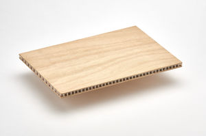 panneau sandwich pour cloison de navire / pour aménagement de navire / décoratif / nid d'abeille