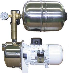 groupe d'eau pompe / accumulateur / pour eau douce / en acier inoxydable