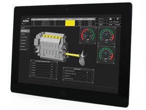 logiciel de visualisation / pour navire / pour bateau / pour bateau professionnel