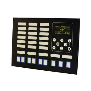 tableau de commande et de contrôle pour navire / pour bateau / pour yacht / pour système d'alarme