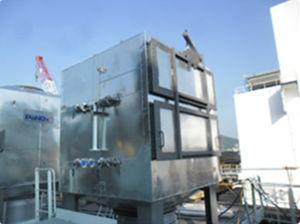 système de réduction sélective catalytique NOx / pour navire / SCR