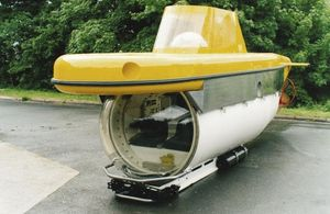 sous-marin à usage professionnel
