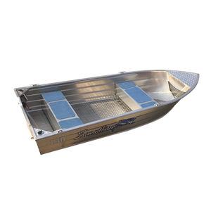 barque en aluminium / hors-bord / open / à console centrale