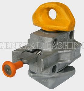 twist-lock pour l'arrimage de conteneur semi-automatique