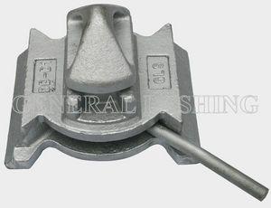 twist-lock pour l'arrimage de conteneur à queue d'aronde