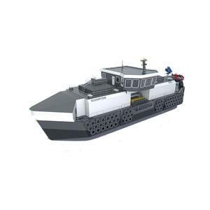 navire pour l'aquaculture feeder