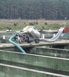 pompe à poissons pour l'aquaculture