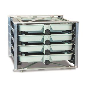incubateur pour poissons 4 plateaux / pour l'aquaculture / saumon / truite