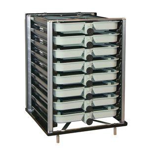 incubateur pour poissons pour l'aquaculture / truite / saumon / vertical