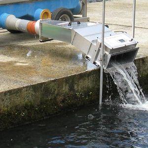 compteur à poissons pour l'aquaculture