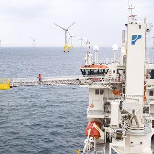 passerelle pour navire de service offshore