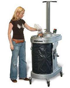 compacteur de déchets pour navire