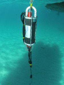 enregistreur acoustique sous-marin