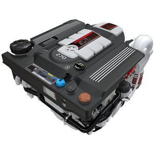 moteur stern-drive / diesel / plaisance / turbo